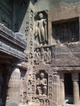 The caves at Ajanta and Ellora